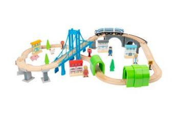 Ferrovia in Legno con Ponte Legler Small Foot