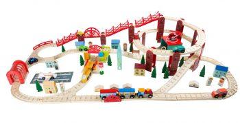 Set di ferrovie La mia città Legler Small Foot