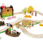 Set ferrovia Isola dei Pirati Legler Small Foot