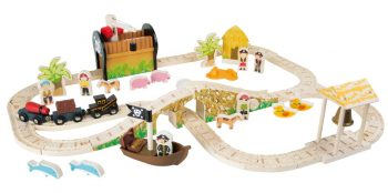 Set ferrovia Isola dei Pirati Legler Small Foot