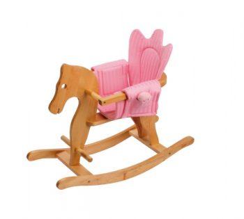 Cavallo a dondolo con rivestimento sedile Legler Small Foot