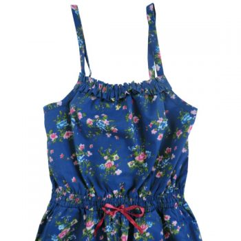 Salopette Navy Floral Powell Craft