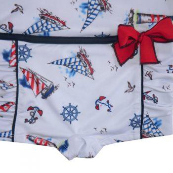 Costume da Bagno Intero Nautico Powell Craft