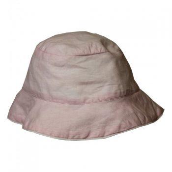 Cappello in Lino Rosa Cipria Powell Craft