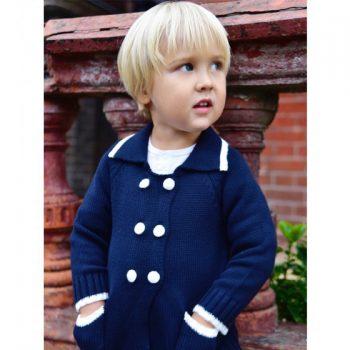 Cappottino Blu Navy Powell Craft