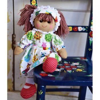 Bambolina con Gattini Powell Craft