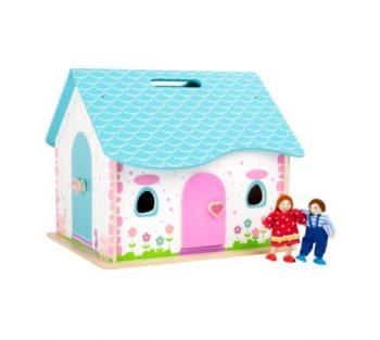 Casa delle bambole pieghevole Legler