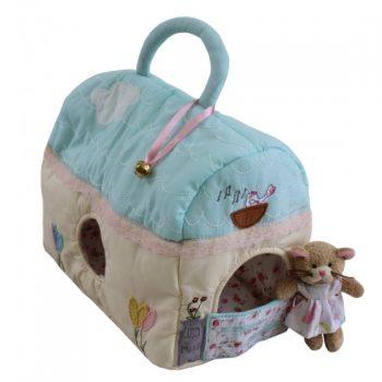 Casetta in Patchwork dei Gattini Powell Craft