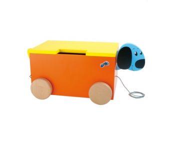 Box giocattoli Cane Legler