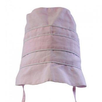 Cuffia in Lino Rosa Cipria Powell Craft