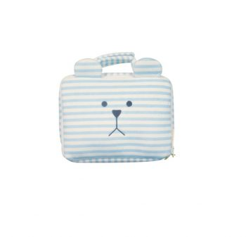 Baby Bag Trousse Termica Impermeabile Sloth Blue Stripes Craftholic Misure 24x17x8 Cm