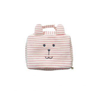 Baby Bag Trousse Termica Impermeabile Sloth Pink Stripes Craftholic Misure 24x17x8 Cm