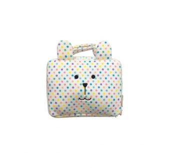 Baby Bag Trousse Termica Impermeabile Sloth Pois Stripes Craftholic Misure 24x17x8 Cm