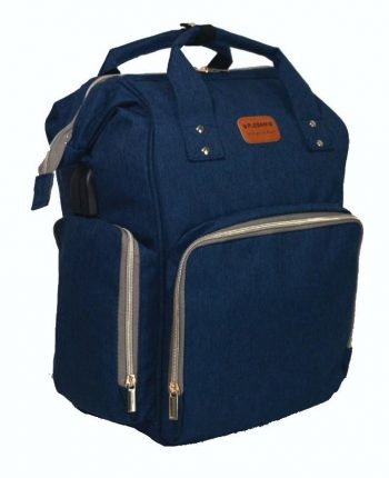 Zainetto Bag Blu Plebani