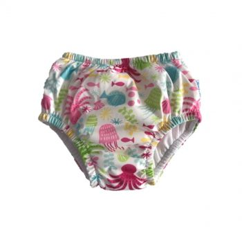 COSTUME CONTENITIVO SLIP GIRL WHITE SEA PALS FLOWER IPLAY