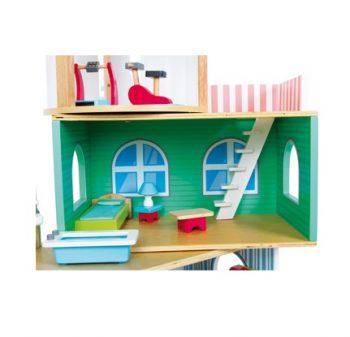 Casa delle Bambole Variabile 3 Piani Legler